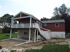 After Renovation of Addition/Deck: